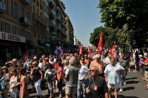 Volontés réformistes - Manifestation à Nice contre la réforme des retraites